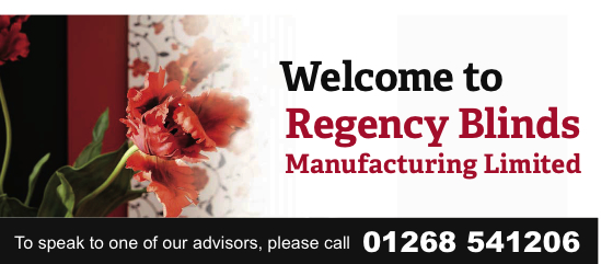 Regency Blinds Manufacturing Limited | Telephone 01268 541206